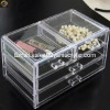 Acrylic Jewelry Box with drawers
