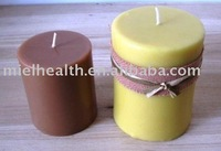 Solid Pillar Beeswax Candles