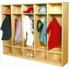 kids public furniture/ wooden Lockers