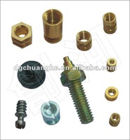 specail processing brass screw and nut