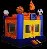 inflatable bouncer sports theme in stock A1100