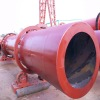 High capacity rotary drum drier for drying sand or stone