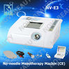 No-Needle Mesotherapy & Skin scrubber Beauty Equiment for spa and salon (3 in 1),NV-E3.CE approval.