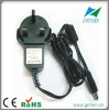 AC Wall mount power adapter 12V power supply AC/DC 12W