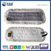 Industrial velcro floor cleaning dust mop