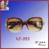 2012 Latest Fashion Design Girl Sunglasses With Crystal