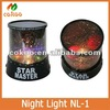Hight Quality Discount LED Projection Night Light NL-1