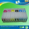 China Transparent Empty Refillable Ink Cartridge For Used With Epson Pp100
