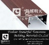 Aluminum wood grain decoration beam