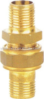male threaded brass fire hose coupling