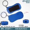 OEM Solar led flashlight keychain