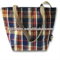 SH072 jute bag for shopping