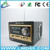 wooden portable speaker FM radio LMD-L367