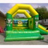 Inflatable monkey bounce Slide,Inflatable wild animal Jump, jungle combo