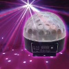 6*3W LED Crystal Ball LED Disco Light