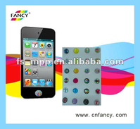 mobile handset screen protector ( button sticker)