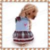 AKB48 grid velvet strap skirt pet clothing