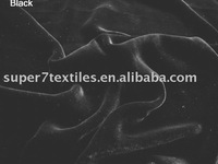 silk velvet black