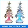 Lowest price for USB 7 color Christmas Tree decoration with bell & belt