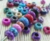 river stone/fashion colorful stone bead, free of freight fee! 333 pcs, all or nothing!