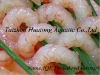 Frozen peeled red shrimp