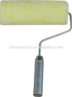 iron handle paint roller with acrylic fabric pile