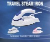 Foldable Handle Steam Travel Iron with dual voltages