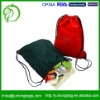 Colorful nylon drawstring backpack