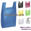 Plastic tee shirt bag