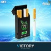 Plastic cigarette case for the Green Hornet in 1400mAh display