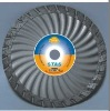 dia115mm Waved turbo small diamond Saw blade for chipping-free cutting granite/diamond cutting blade(STAS)