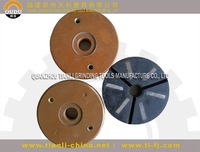 grinding tools pressed granulated resin diamond use for hand-operated machine or floor repolishing machine grit:50#,200#,400#
