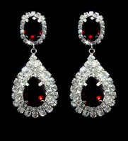 Fashion rhinestone earrings
