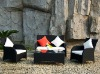 New design rattan outdoor small sofa