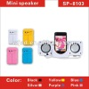 Mini portable speaker for mobile phone with the 3.5mm jack stereo input