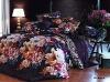 cotton printed bedding set/sheet sets/fabric
