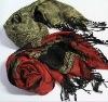 jacquard rayon scarf