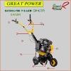Gasoline Power Tiller GHA28R Mini Cultivator