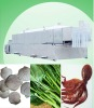Vegetables and seafood scalding and precooking machine