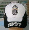 Football club distressed baseball cap