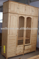 F8304 Wooden Armoire/Clothes Wardrobe/Wood Furniture