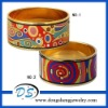 energy bracelet enamel promotion gift jewelry mexican bangle