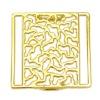 Gold alloy garment buckle