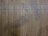 Printed bamboo table mat.natural bamboo carpet with non-slip mat