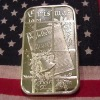 2012 CHRISTMAS GIFT 1 OZ .999 FINE SILVER PLATED BARS, CHRISTMAS FOR SOUVENIR