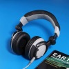 rich bass foldable advanced studio headphones
