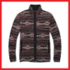 100% Polyester Winter Printed Fleece Jacket