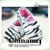 2012 MQ zebra print shoe in size S M L XL