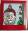 glass Christmas hanging ornament ball& christmas gift