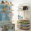 Nursery accessories walk in closet